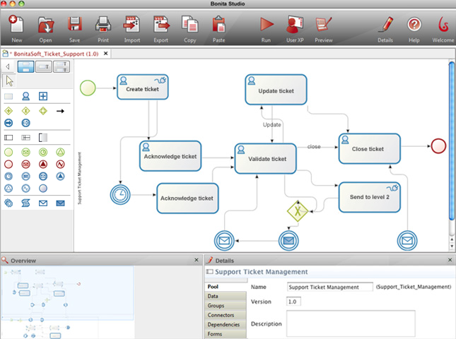 Bonita Open Solution screenshot